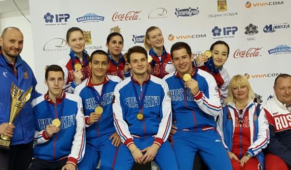 Ура! Победа! Светлана, Яна и Сергей завоевали золотые медали на первенстве Европы!