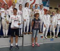 Команда рапиристок стала второй на II Всероссийской летней спартакиаде спортивных школ