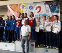 Шпажистки нашей школы завоевали бронзовые медали на II Всероссийской летней Спартакиаде спортивных школ