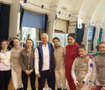 Поздравляем с Днём рождения Золотарёва Михаила Юрьевича, тренера женской рапиры!