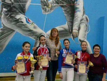 Владислава Пенюшкина стала победителем всероссийского турнира в г.Одинцово