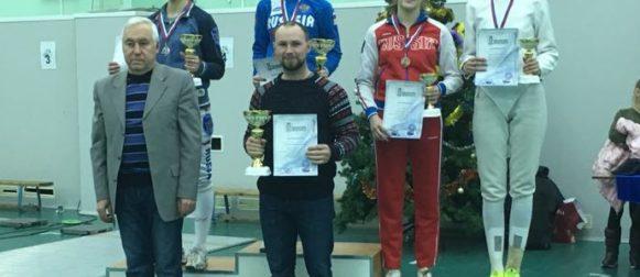 Дарья Дрозд завоевала золото на всероссийском «Новогоднем турнире» в Казани