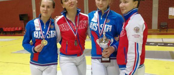 Виктория Юсова стала второй на этапе Кубка мира в Загребе