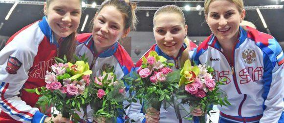Светлана Трипапина — победительница этапа Кубка мира в Катовице