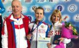 Юсова Виктория завоевала ронзовую медаль на перевнстве Европы!