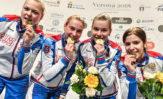 Евгения Подпаскова стала победителтницей первенства мира среди юниорок!