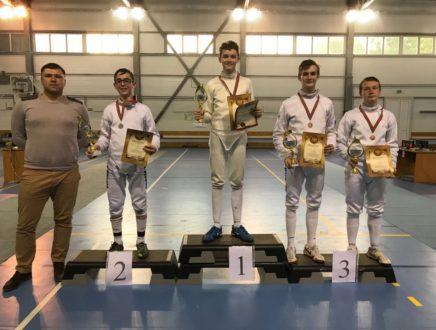 Александр Соболев завоевал бронзовую медаль в Звенигороде!