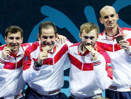 Шпажисты стали чемпионами Европы второй год подряд!