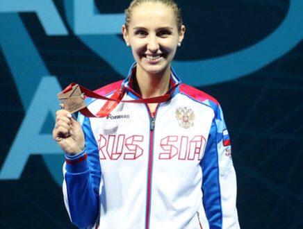 Виолетта Колобова стала бронзовым призером Чемпионата Европы!