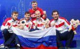 Мужская сборная России по шпаге повторила результат прошлого года, завоевав на чемпионате мира бронзовую медаль!