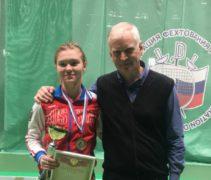 Дарья Дрозд стала третьей во всеросских соревнованиях среди юниорок