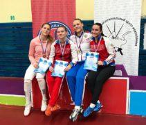 Дарья Дрозд завоевала бронзовую награду в Санкт-Петербурге!