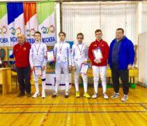 Спортсмены нашей школы заняли три призовых места на открытом квалификационном турнире