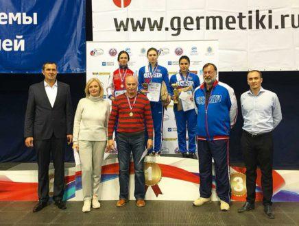 Дарья Рассолова завоевала серебряную медаль на всероссийских соревнованиях!