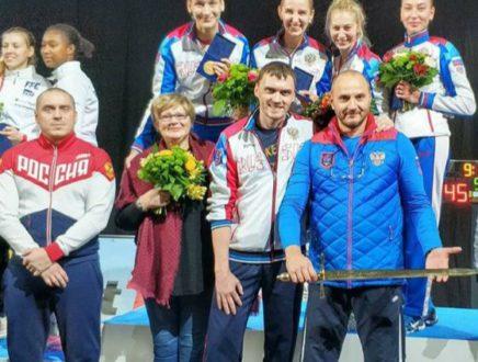 Колобова Виолетта — победитель этапа Кубка мира в Таллине