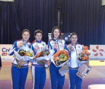 Светлана Трипапина завоевала серебряную медаль во Франции!