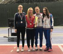 Дарья Дрозд завоевала бронзовую медаль в Болгарии