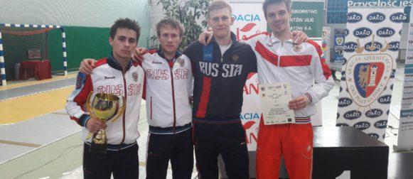 Андрей Курочкин завоевал бронзовую награду в Польше