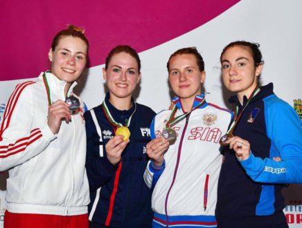 Виктория Юсова стала бронзовым призёром первенства Европы