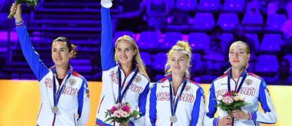 Виолетта Колобова завоевала серебряную медаль чемпионата мира!