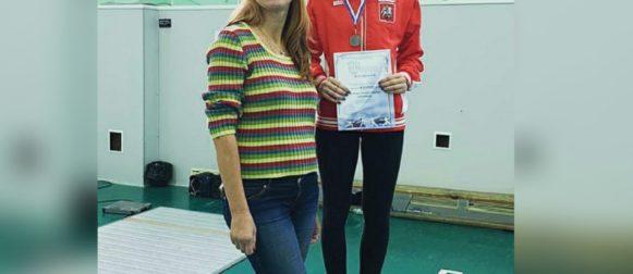 Пенюшкина Владислава завоевала бронзовую медаль всероссийских соревнований среди юниоров!
