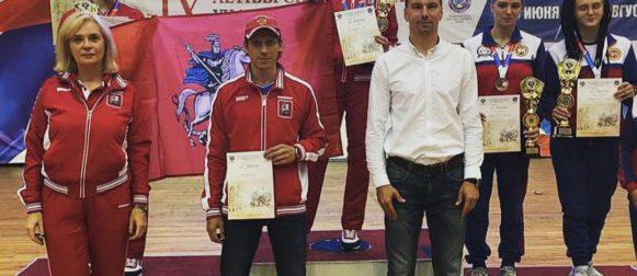 Анна Гзюнова стала серебряным призером IX Летней Спартакиады учащихся