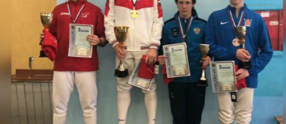 Спицын Николай занял вторую ступень пьедестала на всероссийских соревнованиях в Санкт-Петербурге!