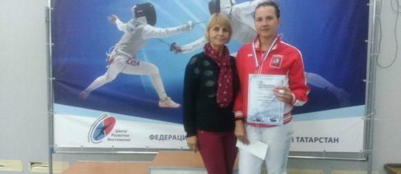 Юсова Виктория заняла 3 ступень пьедестала всероссииких соревнований