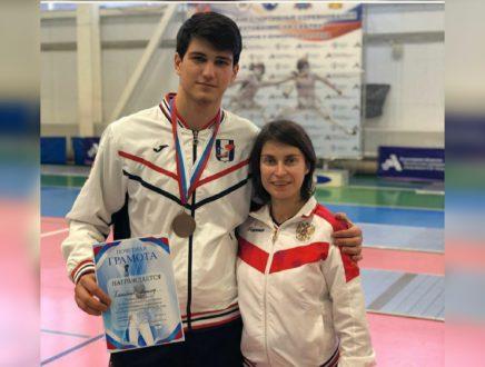 Халимбеков Магамед завоевал бронзовую медаль всероссийских соревнований!