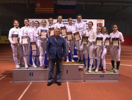 Евдокия Сокерина завоевала серебряную медаль первенства России