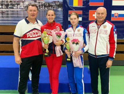 Виолетта Колобова поднялась на третью ступень пьедестала почета в Хорватии!
