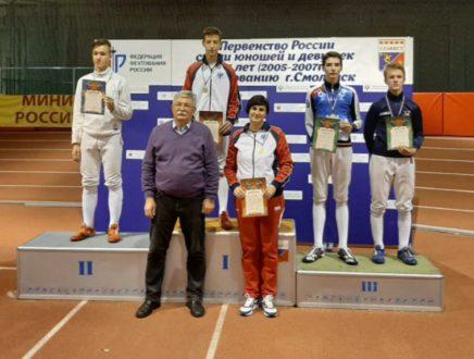 Владислав Гинтвайнис стал бронзовым призером первенства России!
