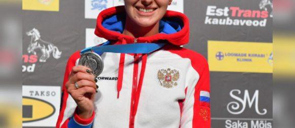 Колобова Виолетта — бронзовый призер личного и командного этапа Кубка мира