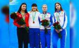 Дарья Дрозд завоевала серебряную и бронзовую медали в Ташкенте!