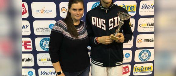 Семён Жуков занял третью ступень пьедестала в Гренобле