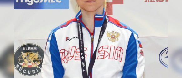 Дарья Дрозд завоевала серебро первенства Европы среди юниоров до 21 года!