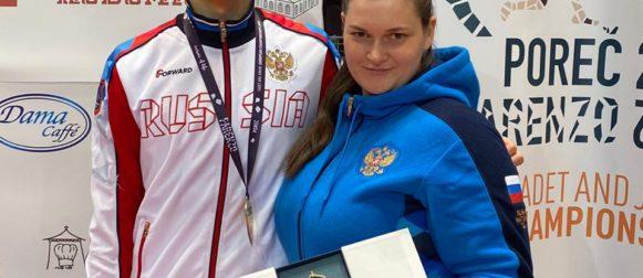 Семён Жуков — бронзовый призер первенства Европы!
