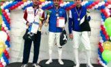 На Всероссийском турнире сильнейших шпажистов России Сергей Бида стал серебряным призером!!!