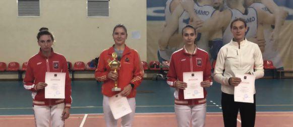 Рапиристки «Юности Москвы» завоевали 11 медалей на Кубке Москвы!