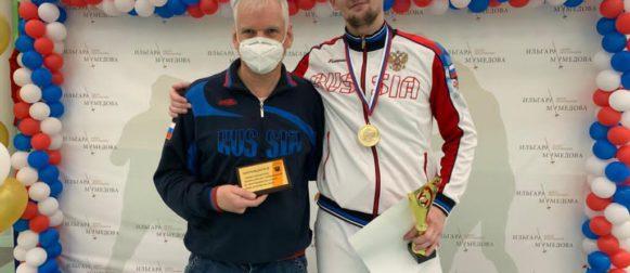 Моторин Илья завоевал золотую медаль на Всероссийском турнире!