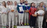 Наши рапиристки заняли второе место на всероссийском турнире в г. Казани!