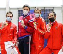 Сергей Бида завоевал еще одну золотую медаль чемпионата России!