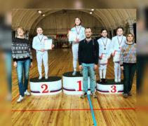Наши рапиристки завоевали 1 серебряную и 2 бронзовые медали квалификационного турнира ФСО «Юность Москвы»