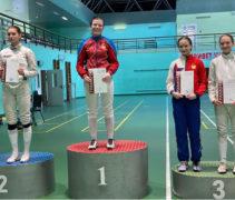 Игнашина Софья — бронзовый призер открытого турнира города Москвы!