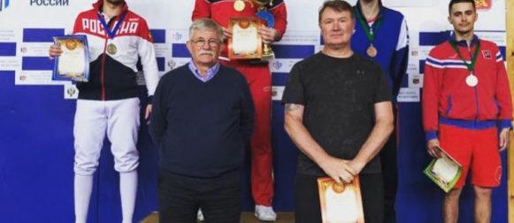 Сергей Бида завоевал золотую медаль на Всероссийском турнире сильнейших в Смоленске!