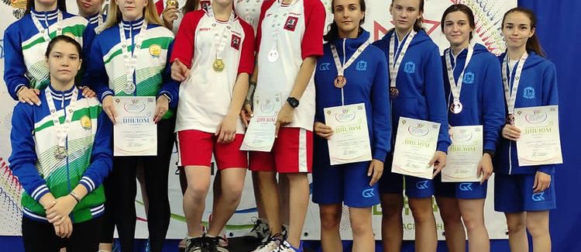 Сразу три золотые медали завоевали наши спортсменки на V Спартакиаде!