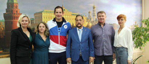 Встреча в центральном офисе ФСО «Юность Москвы»