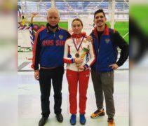 Евгения Подпаскова бронзовый призер всероссийских соревнований в Химках!